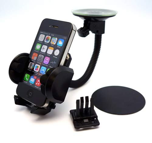 BrainWizz® FLY Support voiture pour iPhone 6 et 6 Plus