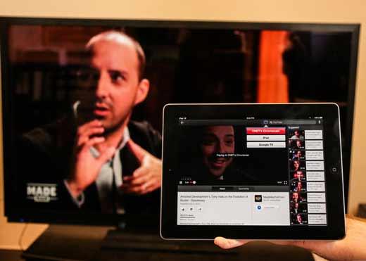 Chromecast-afficher-smartphone-tablette-sur-ecran-tv-2